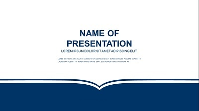 Abstract Book Background Presentation Template Feature Image