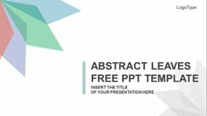 Abstract-Leaves-PowerPoint-Template Feature Image