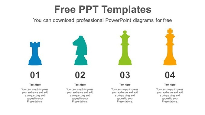 Chess-Silhouette-PowerPoint-Diagram-posting-image