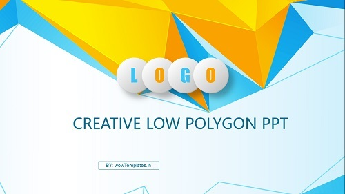 Creative-Low-Polygon-PowerPoint-Templates Feature Image