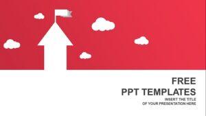 House-shape-arrows.-Business-concept-PowerPoint-Templates-Widescreen
