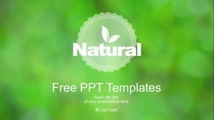 Natural Green Multipurpose Presentation Template Feature Image