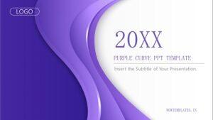 Purple-curve-background-PPT-templates Feature Image