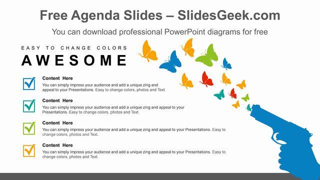 Gun-Free-Zone-PowerPoint-Diagram