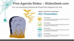 Headstone-Ghost-PowerPoint-Diagram