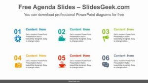 Icon-Number-List-PowerPoint-Diagram