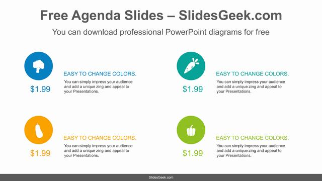 Icon-Price-List-PowerPoint-Diagram