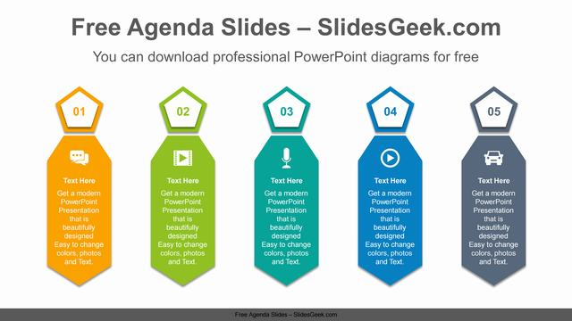 Mens-ties-PowerPoint-Diagram-Template