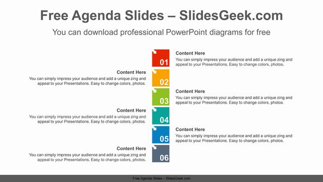 Numbering-square-list-PowerPoint-Diagram-Template