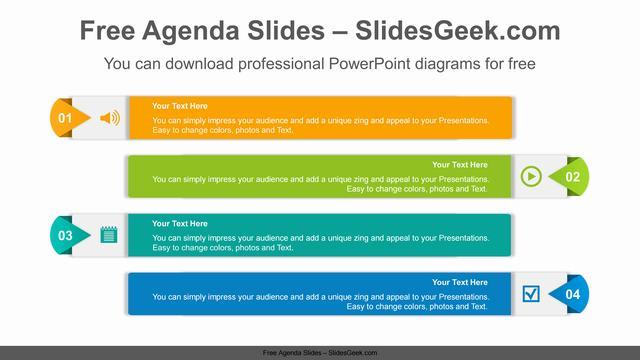 Origami-Banner-PowerPoint-Diagram