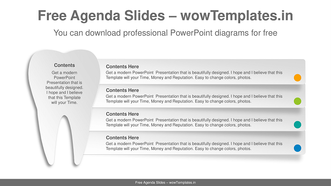 Paper-Texture-Tooth-PowerPoint-Diagram-1