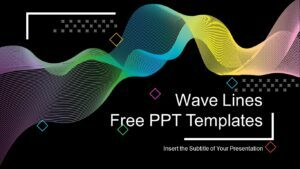 Wave Lines PowerPoint Presentation Template _ Feature Image