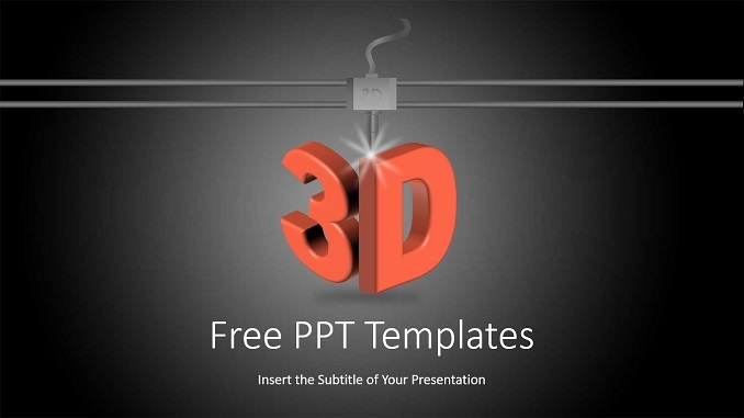 3D Printing Technology PowerPoint Templates_wowTemplates_Feature Image