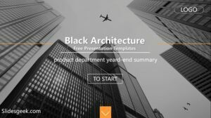 Black Architecture Presentation Template Feature Image