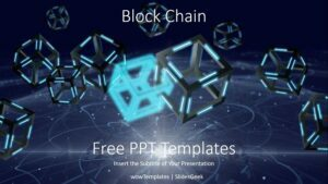 Block Chain PowerPoint Templates_wowTemplates_Feature Image