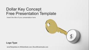 Dollar Key Concept_PowerPoint_Presentation Templates_Feature Image