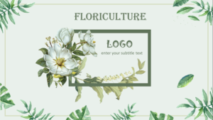 Floriculture Presentation Template_PowerPoint_Google Slides_Feature Image