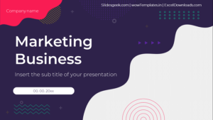 Marketing Business - PowerPoint Templates_Presentation _Feature Image