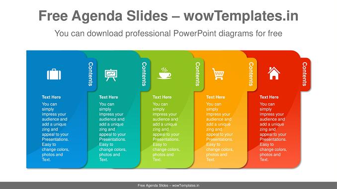 Paperwork-File-Banner-PowerPoint-Diagram