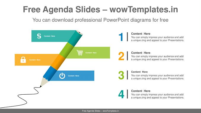 Pencil-banner-PowerPoint-Diagram-Template-1
