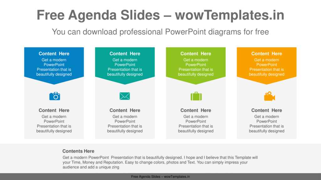 Pentagonal-banner-PowerPoint-Diagram-Template-