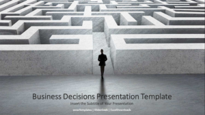Business Decisions Presentation Template Feature Image2