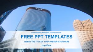 City Building Design Presentation Template Feature Image