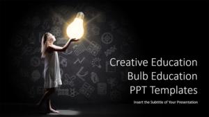 Creative Education Bulb Presentation Template