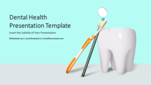 Dental Health Care PowerPoint Template wowTemplates feature image