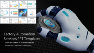 Factory Automation Services PowerPoint Templates Feature Image