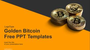 Golden-Bitcoin-PowerPoint-Templates-wowTemplates-feature image
