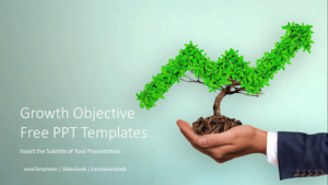 Growth Objective Presentation Templates Feature Image