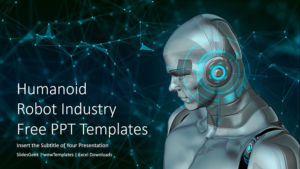 Humanoid Robot Industry PowerPoint Templates_wowTemplates_Feature Image