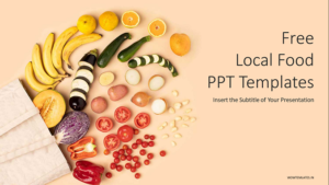 Local Food PowerPoint Templates Presentation Feature image