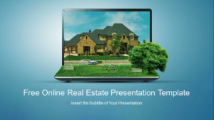 Online Real Estate PowerPoint Templates Feature Image