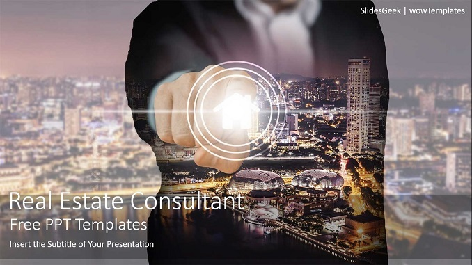 Real Estate Consultant PowerPoint Templates_wow_Feature Image