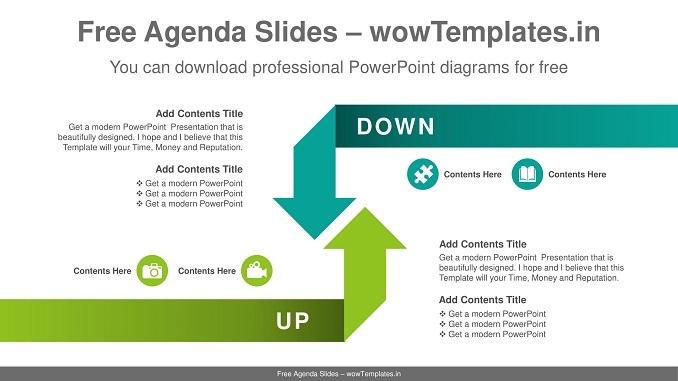 Reverse-Crossing-Arrows-PowerPoint-Diagram-feature image