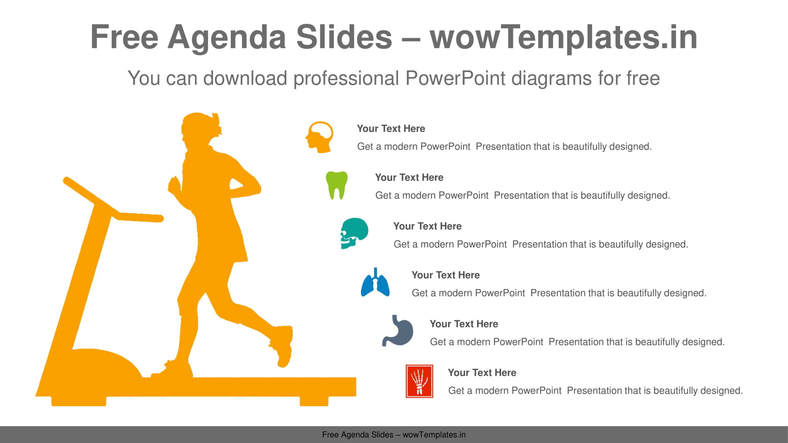 Running-woman-PowerPoint-Diagram-Template-feature image