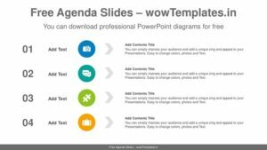 Simple-circles-list-PowerPoint-Diagram-Template-feature image