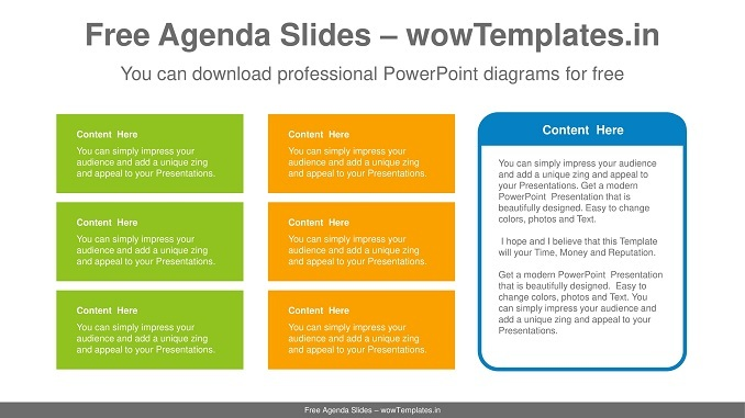 Simple-color-text-box-PowerPoint-Diagram-Template-Feature image