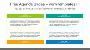 Simple-color-text-boxes-PowerPoint-Diagram-Template-feature image