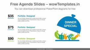 Special-Dinner-PowerPoint-Diagram-Template-feature image