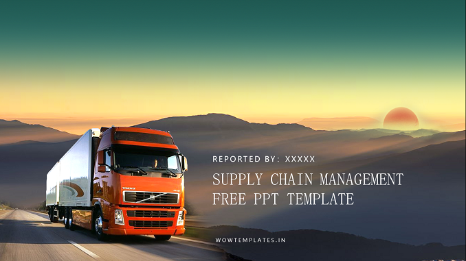 Supply Chain Management Presentation Template Feature Image