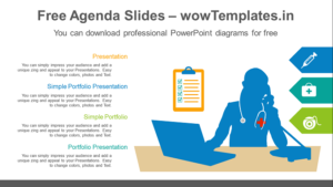 Telemedicine-check-PowerPoint-Diagram-feature image