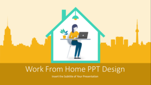 Working From Home PowerPoint Templates Feature Image