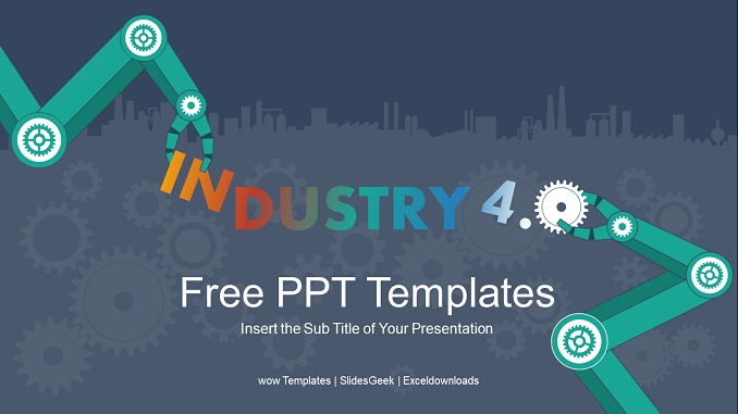 industry Revolution Presentation Template - Feature Image