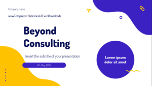 Beyond Consulting Presentation Template Feature Image