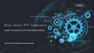 Blue-Gear-PowerPoint-Templates-feature image