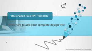 Blue-Pencil-Pattern-PowerPoint-Templates-feature image