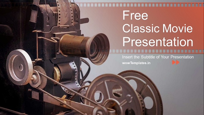 Classic Movie Production _Presentation Template_Feature Image